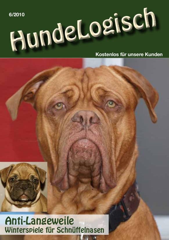 Hunde-Logisch Ausgabe 6 / 2010 – Leitthema: Anti-Langeweile. Winterspiele für Schnüffelnasen