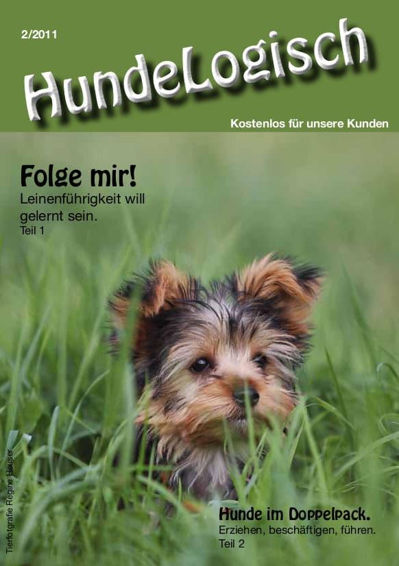 Hunde-Logisch Ausgabe 2 / 2011 - Leitthema: Folge mir!