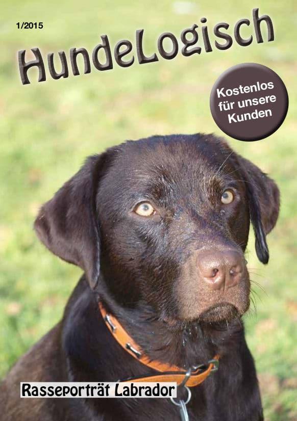 Hunde-Logisch Ausgabe 1 / 2015 – Leitthema: Rasseporträt Labrador