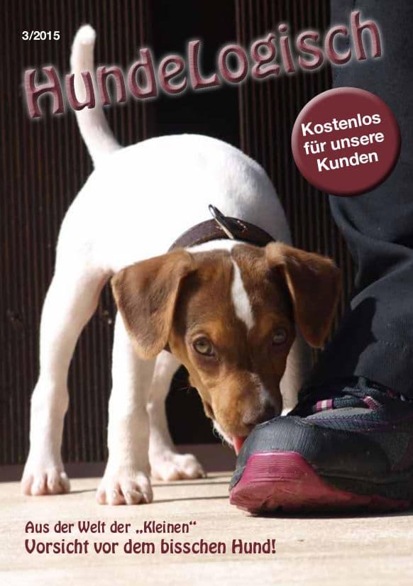 Hunde-Logisch Ausgabe 3 / 2015 – Leitthema: Vorsicht vor dem bisschen Hund