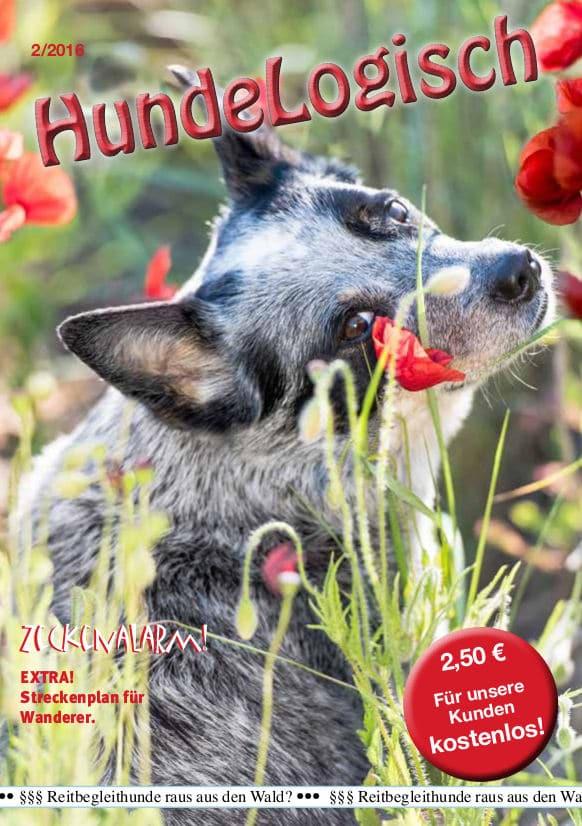 Hunde-Logisch Ausgabe 2 / 2016 – Leitthema: Zeckenalarm