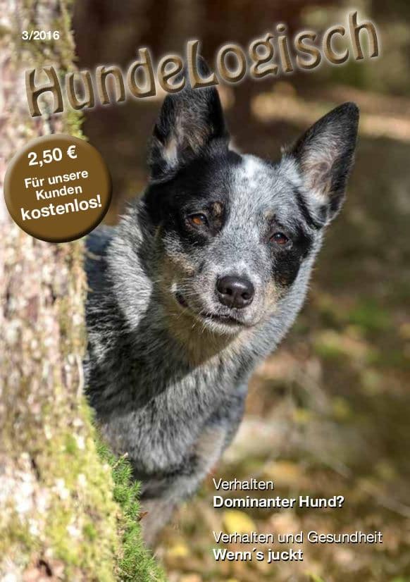 Hunde-Logisch Ausgabe 3 / 2016 – Leitthema: Dominanter Hund?