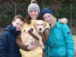 Labrador Familie