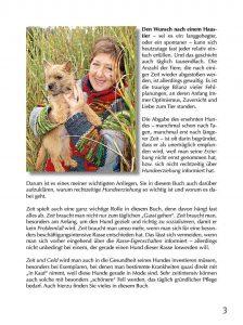 Hundebuch Barbara Neuber Seite 3