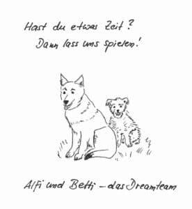 Alfi und Betti Hundeteam